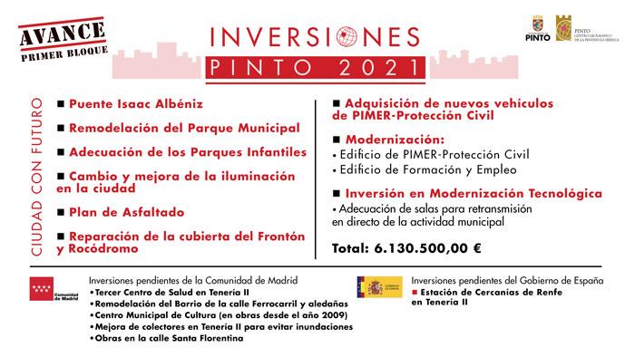 Así son los nuevos presupuestos de Pinto: más de 52 millones de euros y sin subida de impuestos