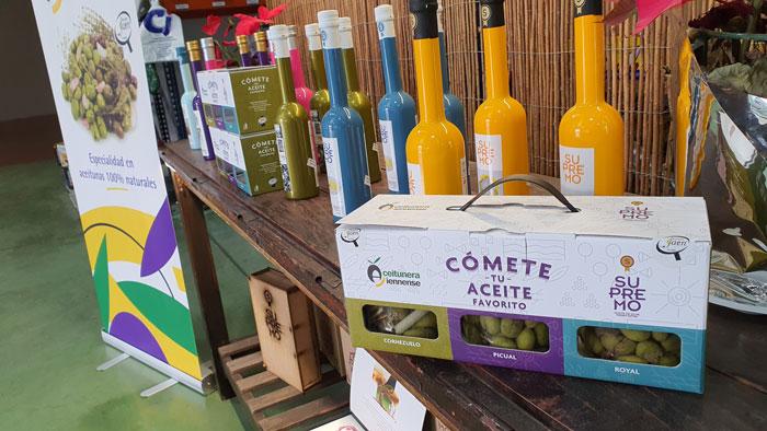 Aceitunera Jienense y Aceite Supremo comercializarán por primera vez la variedad Royal para Aceituna de mesa en un pack de lujo