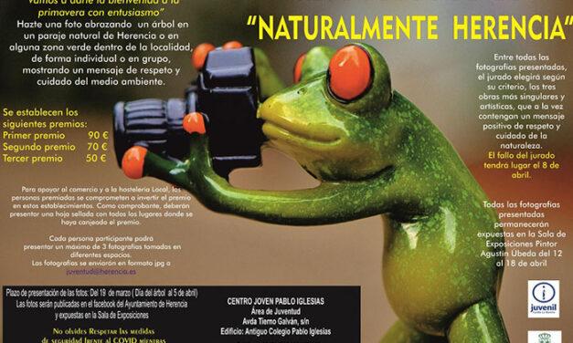 Dale la bienvenida a la primavera participando en el reto fotográfico «Naturalmente Herencia»