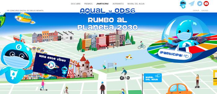 Ayuntamiento y Aqualia convocan una nueva edición del Concurso Digital de Dibujo Infantil para educar en valores medioambientales