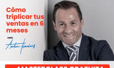 Masterclass gratuita de AJE Jaén 'Cómo triplicar tus ventas en seis meses'