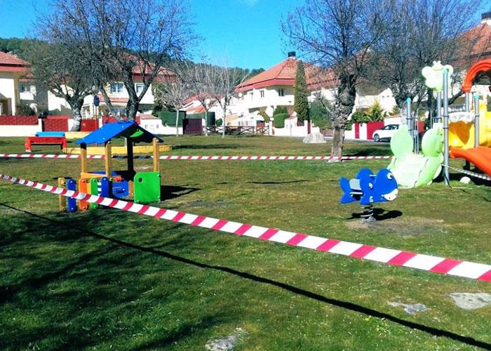 Moralzarzal reabre a partir de hoy los parques infantiles