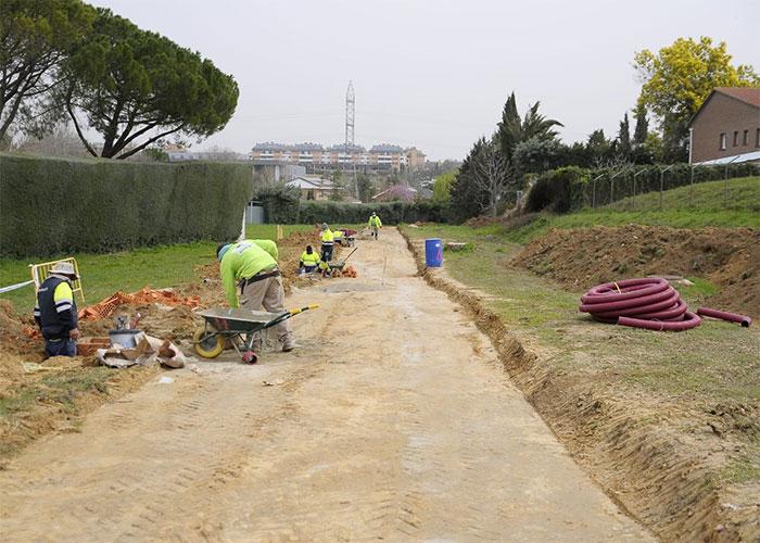 En construcción una nueva senda de coexistencia que une La Cárcava con Viñas Viejas