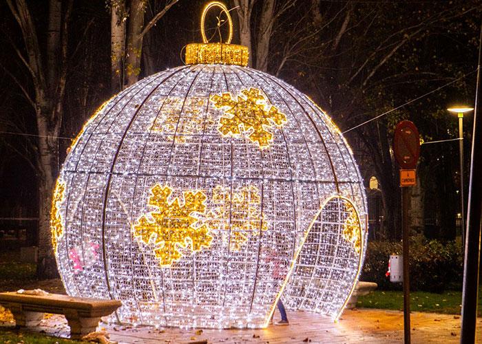 Las calles y espacios públicos de Pozuelo también lucirán motivos especiales en 3D las próximas navidades