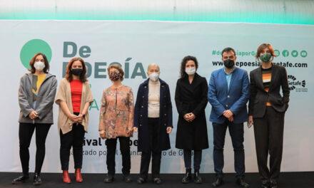 Arranca la VI edición del Festival 'De Poesía por Getafe'