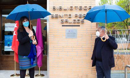 La Biblioteca Volturno de Pozuelo de Alarcón pasa a llamarse Benito Pérez Galdós