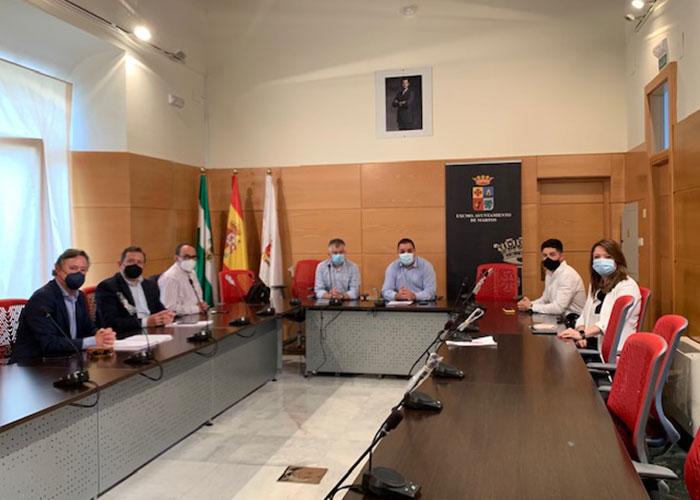El Ayuntamiento de Martos aborda con el tejido empresarial el proyecto de ampliación de suelo industrial