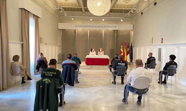 Celebrada Junta Local de Seguridad en el Ayuntamiento de Alcázar de San Juan en relación a la próxima campaña agrícola
