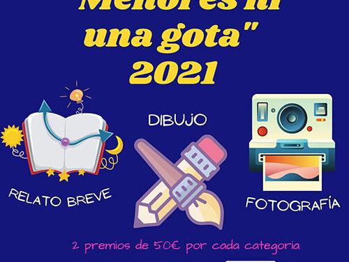 Nueva convocatoria del concurso 'Menores, ni una gota' en Manzanares