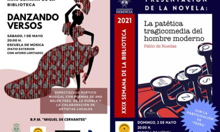 La Biblioteca Municipal conmemora su semana especial con una programación marcada por la creatividad de artistas herencianos