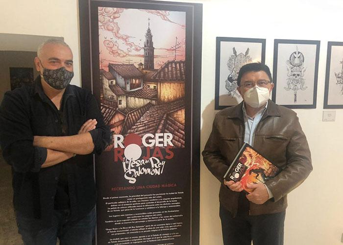 El Gobierno local apoya la muestra 'El arte de Roger Rojas y la Mesa del Rey Salomón' a cargo de Salva y Jesús del Viso