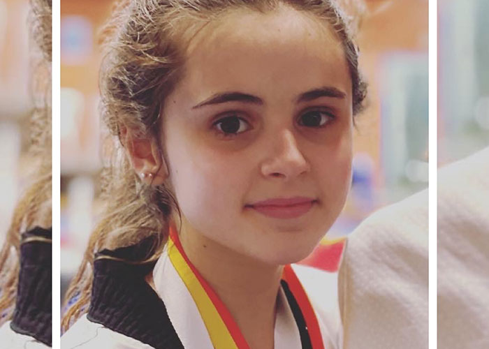 La joven Carmen Galiano, bronce en la Copa de España cadete de Taekwondo