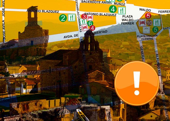 Información importante si visitas bienes turísticos propiedad del Excmo. Ayuntamiento de Almadén