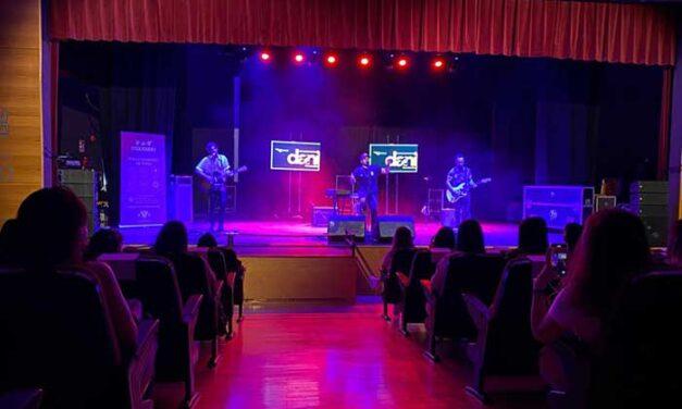 Dani Fernández llena la Sala Thalía en el concierto organizado por el Ayuntamiento para la juventud toledana