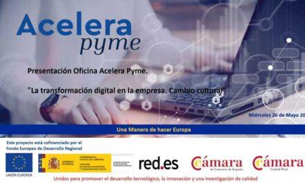 La Oficina Acelera Pyme de la Cámara de Comercio comienza su actividad para ayudar a las empresas en su digitalización