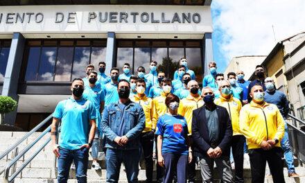 Isabel Rodríguez: «Los aficionados agradecemos al Calvo Sotelo que lleve el nombre de Puertollano allá por donde va»