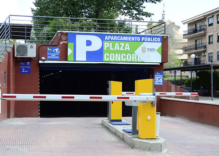 El parking de la Concordia será gratuito entre las 10:00 y las 20:00 horas hasta el 31 de diciembre de 2021