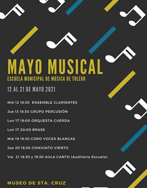 La Escuela Municipal de Música Diego Ortiz ofrece 'Mayo Musical' y mantiene abiertas las preinscripciones hasta el 28 de mayo