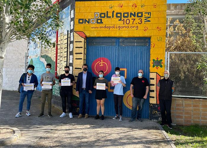El Ayuntamiento de Toledo apuesta por los programas de formación y ocio alternativo junto a entidades como Onda Polígono