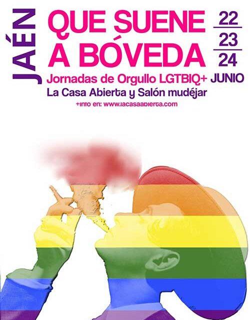 El Ayuntamiento de Jaén celebra el Día del Orgullo LGTBIQ+ con una exposición colectiva, cineforum, charlas, proyecciones y un coloquio con la popular escritora y documentalista Valeria Vegas