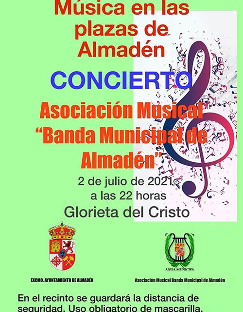Música en las plazas de Almadén