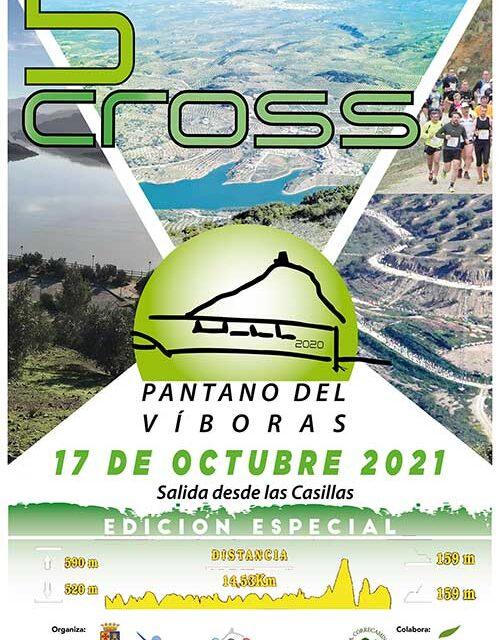 El cross del Pantano del Víboras se celebra el próximo 17 de octubre