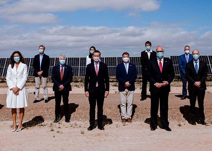 Repsol inaugura Kappa, su primer complejo fotovoltaico