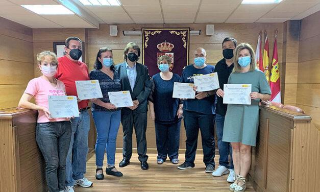 El Gobierno de Castilla-La Mancha ha destinado estos dos años 200.000 euros a programas que combinan formación y empleo en Almadén