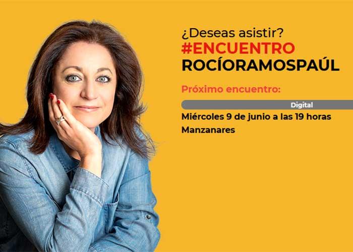 Rocío Ramos-Paúl, Supernanny, mantendrá un encuentro on line con familias de Manzanares para abordar la prevención del consumo de alcohol entre sus hijos menores