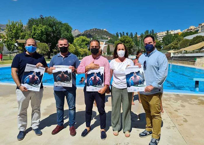 Jaén se convertirá por segundo fin de semana consecutivo en la capital regional de la natación gracias al Campeonato de Andalucía
