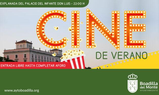 La Explanada del Palacio acoge a partir del día 19 un nuevo ciclo de «Cine de Verano»