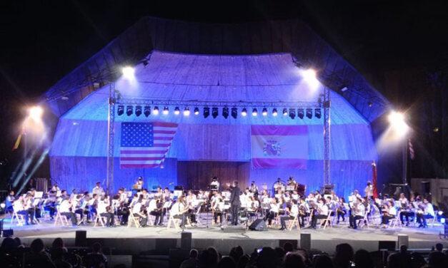 Gran concierto de La Lira en su homenaje al Día de la Independencia de los Estados Unidos