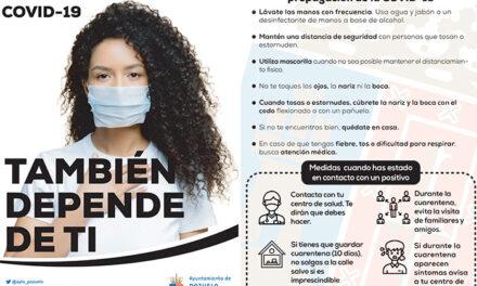 El Gobierno municipal refuerza su campaña de concienciación sobre las medidas para evitar la propagación del virus