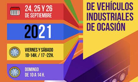 La Feria Nacional de Vehículos Industriales de Ocasión se celebrará del 24 al 26 de septiembre