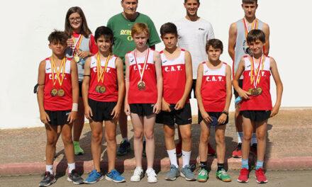 Torralba finaliza las Escuelas Deportivas y consigue cinco medallas regionales en atletismo y doce provinciales