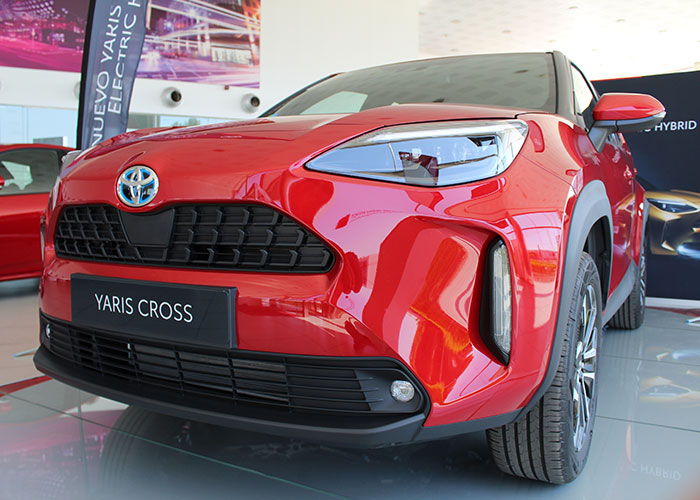 Tresa Motor, concesionarios oficinal Toyota para la provincia de C.Real presenta ante los medios en nuevo YARIS CROSS ELECTRIC HYBRID