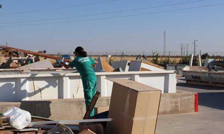 Se duplica el volumen de gestión de residuos en el Punto Limpio de Manzanares
