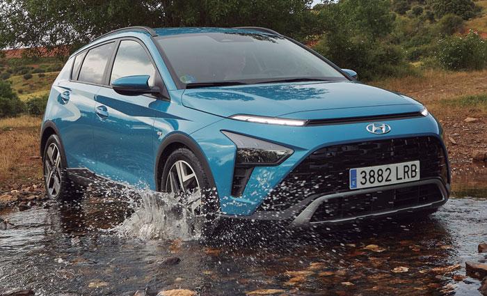 Nuevo Bayon, el último miembro de la familia SUV de Hyundai