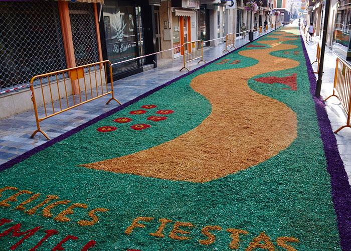 Última semana para apuntarse al concurso para elegir la alfombra floral de la Virgen
