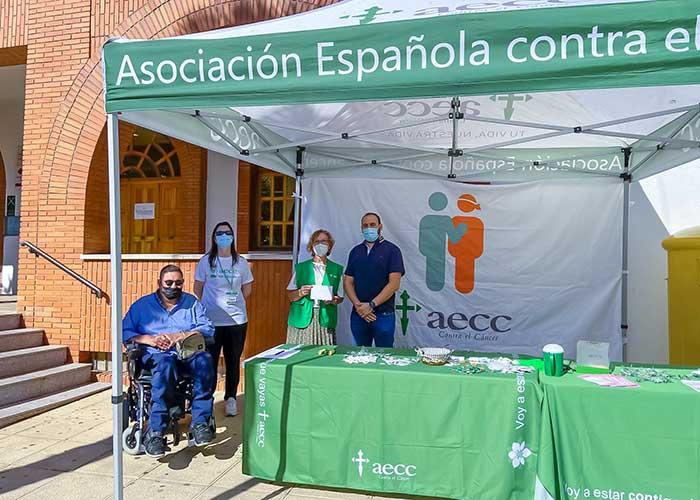 El Ayuntamiento de Argamasilla de Calatrava colabora en la cuestación de la Junta Local de la AECC
