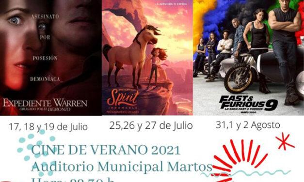 Arranca el cine de Verano en el auditorio con los últimos estrenos de la temporada