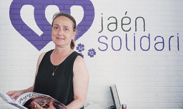 Julia Molina Porlán, presidenta de la Asociación-proyecto 'Jaén Solidario'