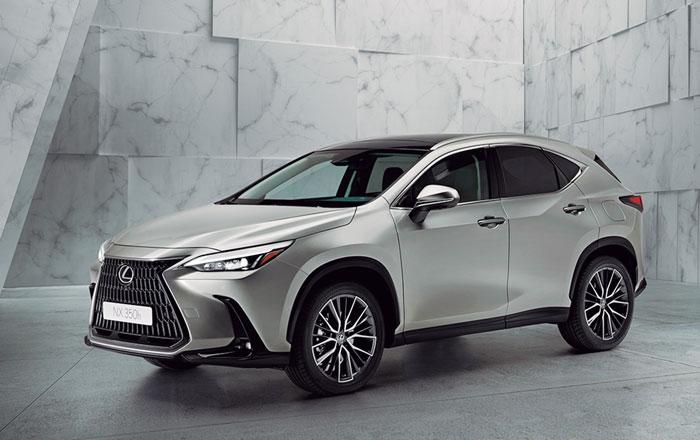 Comienza una nueva era para Lexus con el renovado NX