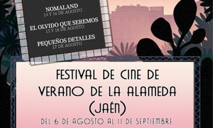 El Ayuntamiento de Jaén abre el próximo viernes las puertas del auditorio de La Alameda a Fescinal, el Festival de Cine de Verano, con entradas a 3 euros y filmes de éxito