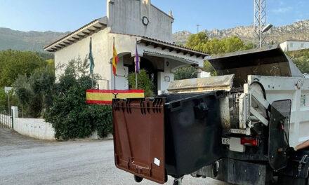 El Ayuntamiento de Jaén mejora el servicio de recogida de residuos para que atienda el incremento poblacional de Puerto Alto, Los Cañones y el Puente de la Sierra