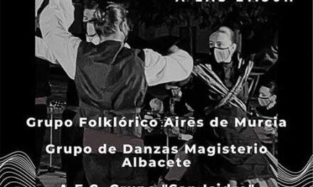 El folclore de Albacete, Murcia y Argamasilla de Calatrava se dan la mano este sábado en el Centro Cultural