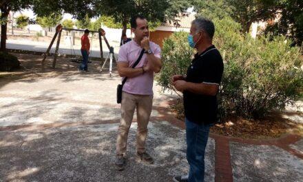 El Ayuntamiento de Herencia actúa en la mejora de varios Parques Infantiles del municipio