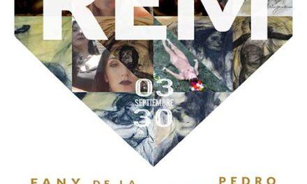 El artista contemporáneo Pedro Siratz y la cineasta Fany de la Chica traen a la Sala Moneo la exposición REM, fruto de los sueños originados durante la pandemia