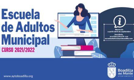 Abierto el plazo de inscripción en las enseñanzas abiertas de la Escuela de Adultos