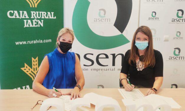 ASEM renueva su convenio con Caja Rural de Jaén con ventajas para sus empresas asociadas